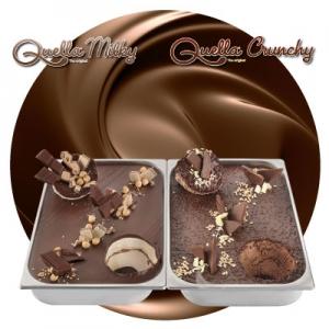 巧克力奶油淋酱家族
